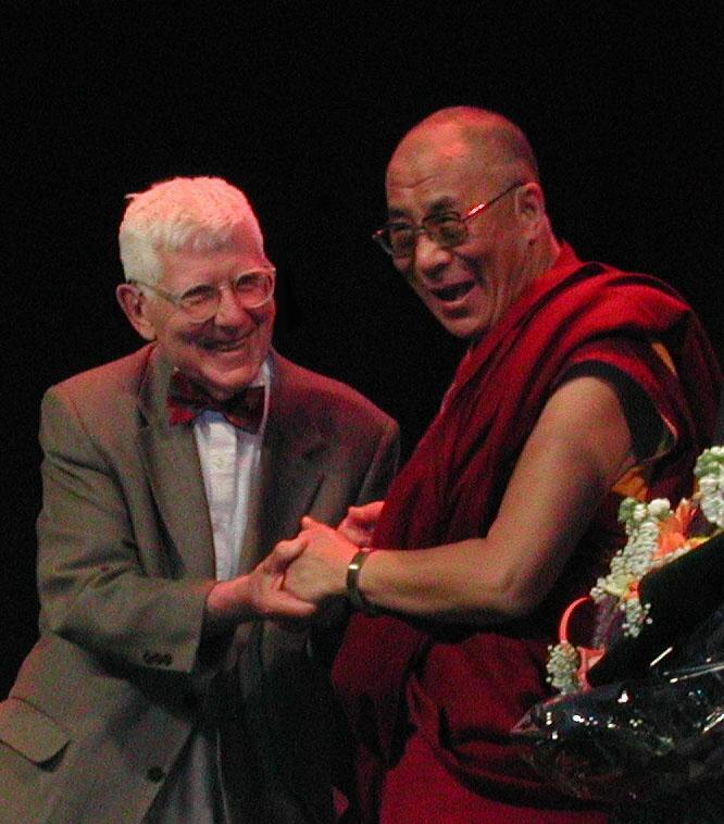 Dalai Lama and Aaron Beck